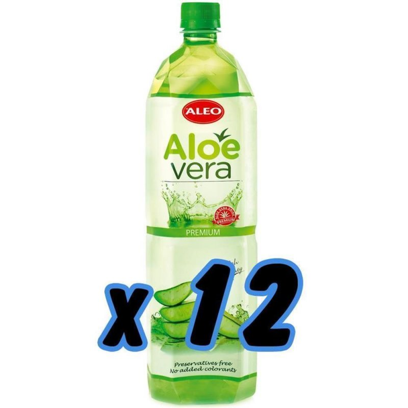 aloe vera drinks premium aloe 12x 1 5 l 33 00. Black Bedroom Furniture Sets. Home Design Ideas