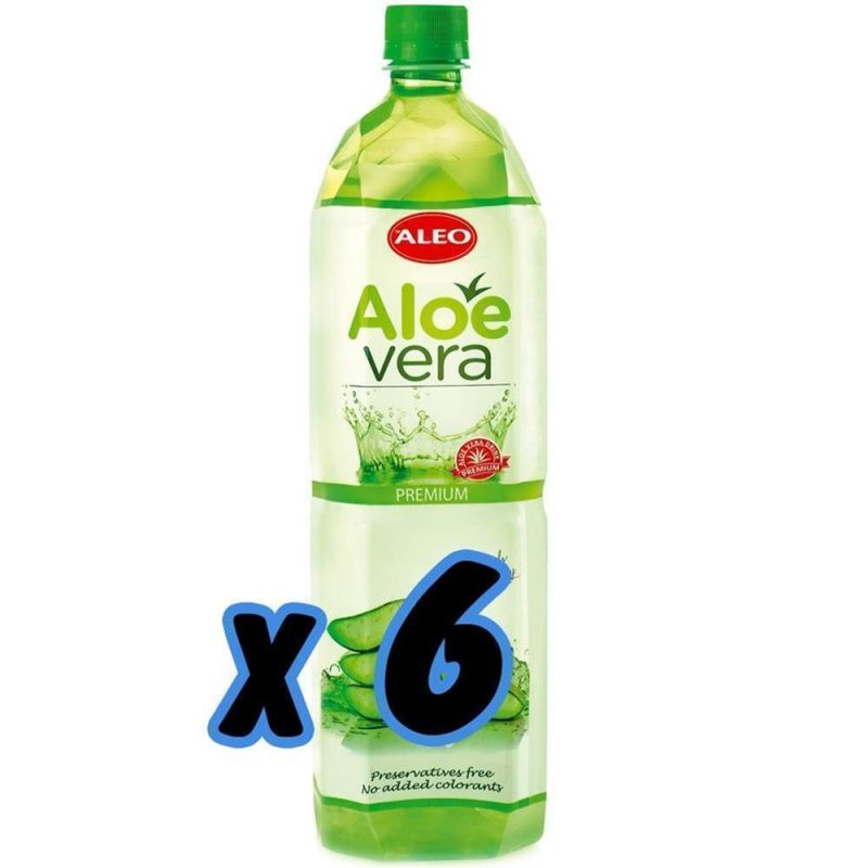 aloe vera drinks premium aloe 6x 1 5 l 17 25. Black Bedroom Furniture Sets. Home Design Ideas