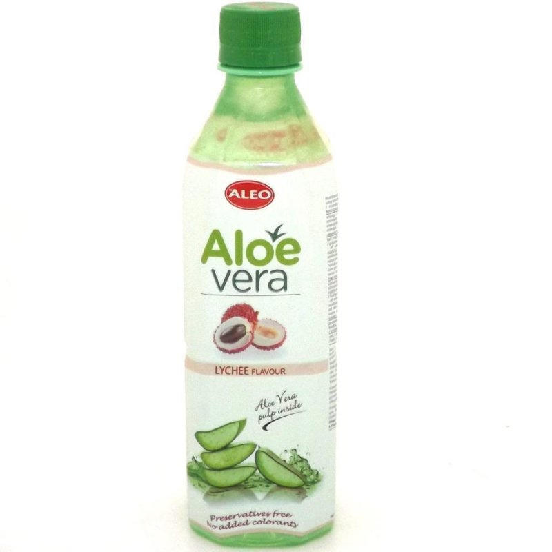 aloe vera drinks with lychee flavour 1x 500ml 1 40. Black Bedroom Furniture Sets. Home Design Ideas