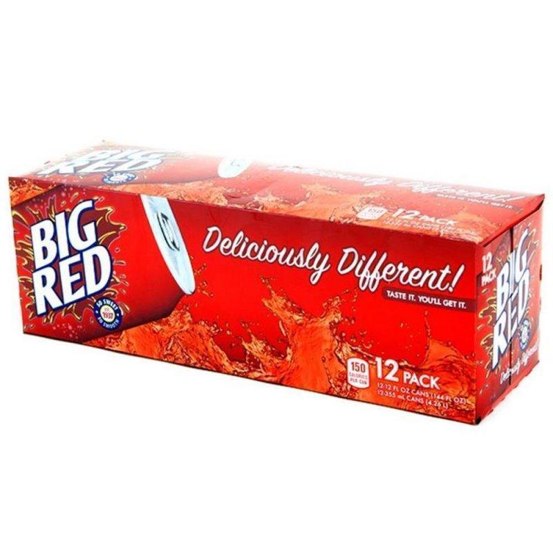 big red soda 12 x 355 ml 16 03 chf usa drinks ihr. Black Bedroom Furniture Sets. Home Design Ideas