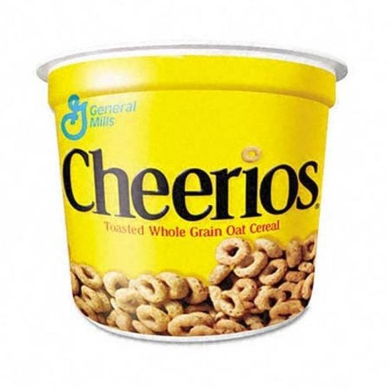 Cheerios Toasted Whole Grain Oat Cereal Cup ( 39 g ), 2,49 €, US