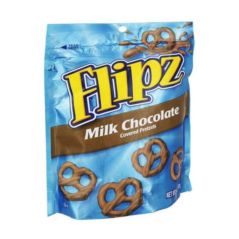 Flipz Milk Chocolate Covered Pretzels  (141g)