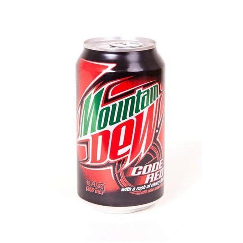 Mountain dew code red 1 x 355 ml usa drinks ihr online shop f 252 r ame