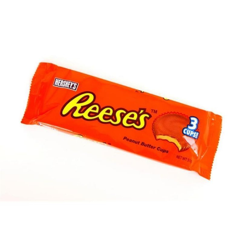 Reeses 3 Peanut Butter Cups (51g.)