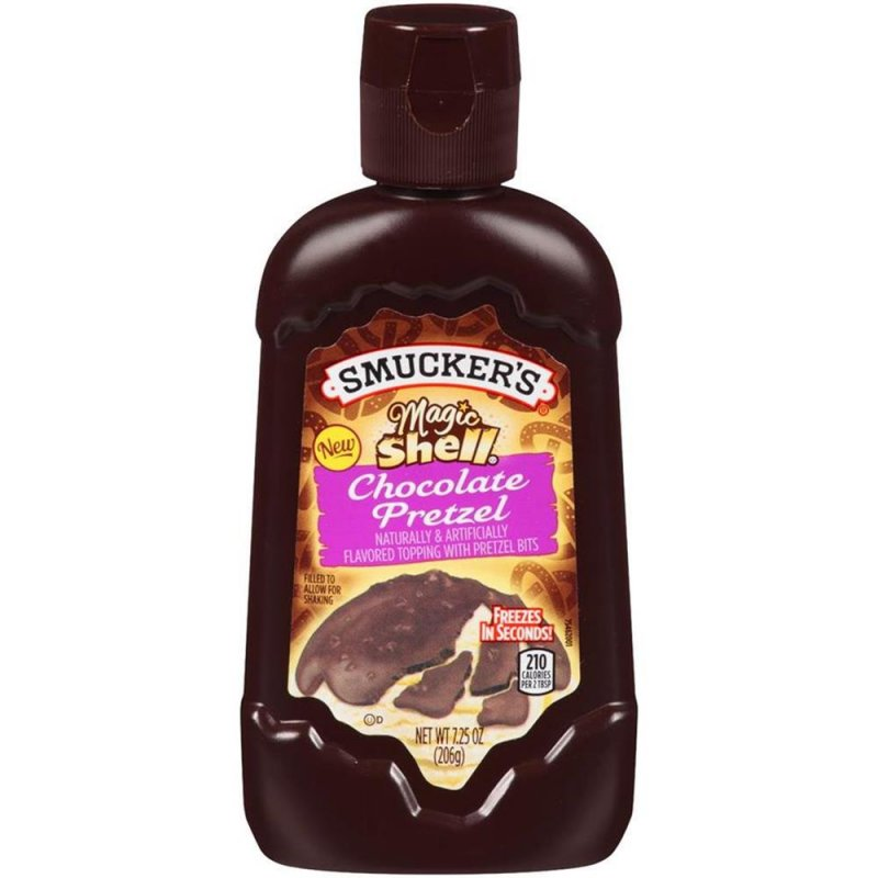 Smuckers -  Magic Shell Chocolate Pretzel Topping  (206 g)