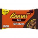 Reeses Peanut Butter Cups Miniatures Dark Chocolate (340 g)