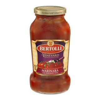 Bertolli Sauce Vineyard Marinara with Burgandy Wine (680g)