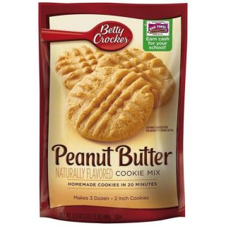 Betty Crocker Peanut Butter Cookie Mix (496g)