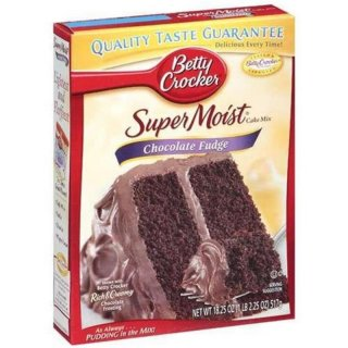 Betty Crocker - Super Moist - Chocolate Fudge Cake Mix (432g)