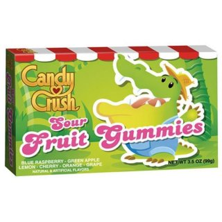 Candy Crush - Sour Fruit Gummies (99g)
