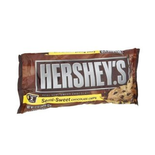 Hersheys Semi-Sweet Chocolate Chips (340g)