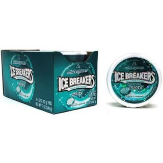 Ice Breakers Mints - Wintergreen - Sugar Free (8x42g)