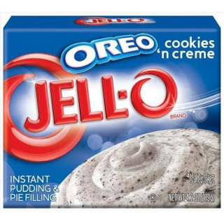 Jell-O Oreo Cookies And Cream Instant Pudding & Pie Filling (119g)