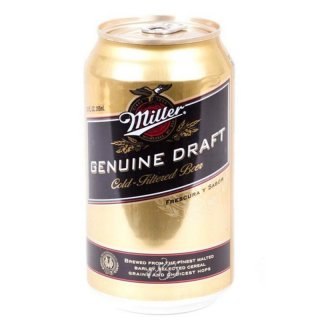 Miller Genuine Draft 1 x 355 ml (Dose)