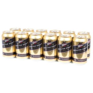 Miller Genuine Draft 12 x 355 ml (Dose)