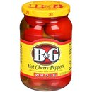 Hot Cherry Peppers Whole (473ml)