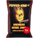 Pepper-King Habanero Kessel Chips (5x125g)