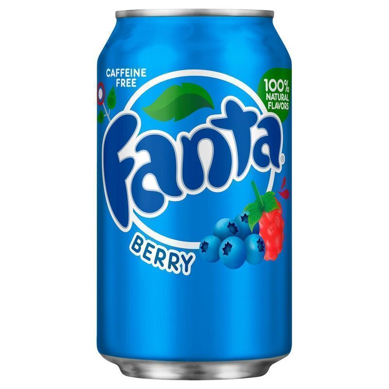 Fanta Berry 1 X 355 Ml, 1,20