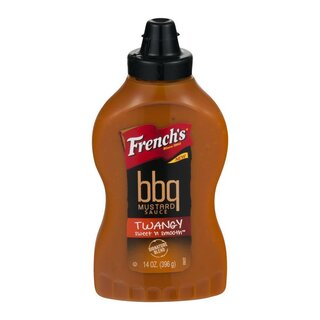 Frenchs BBQ Mustard Sauce Twangy Sweet n Smooth (396g)