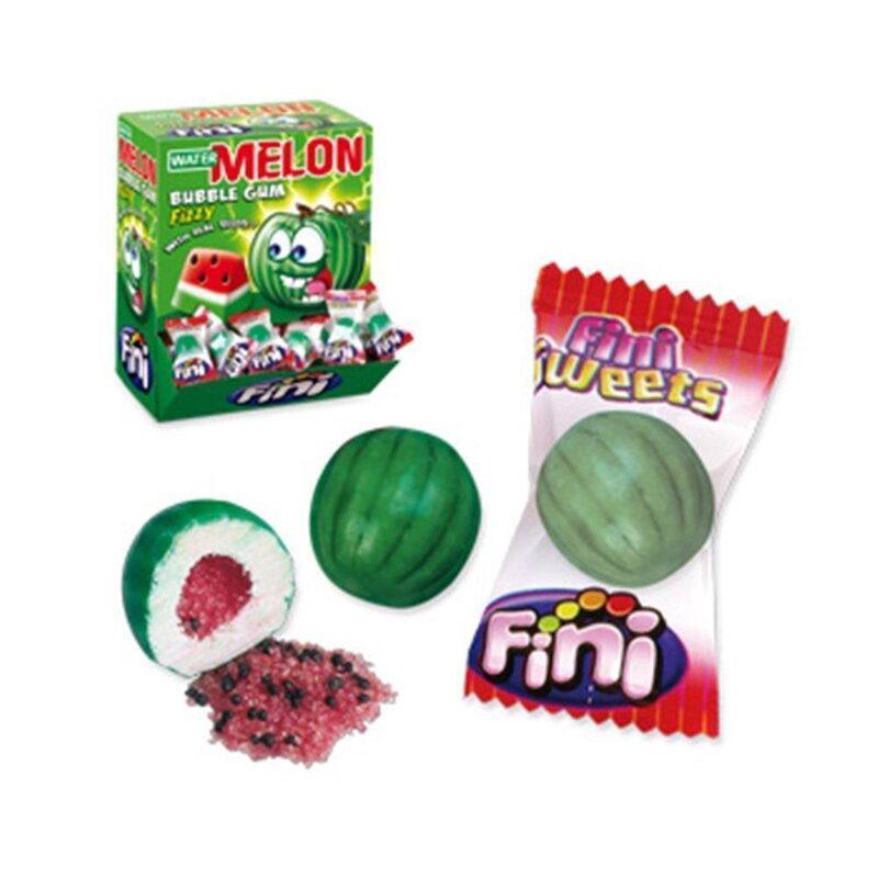 Fini - Watermelon Fizzi Bubble Gum (200 Stk)