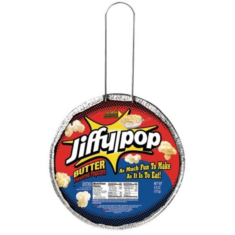 Jiffy Pop Butter Flavored Popcorn - 1 x 127g