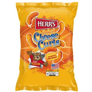 Herrs - Baked Cheese Curls (199g)