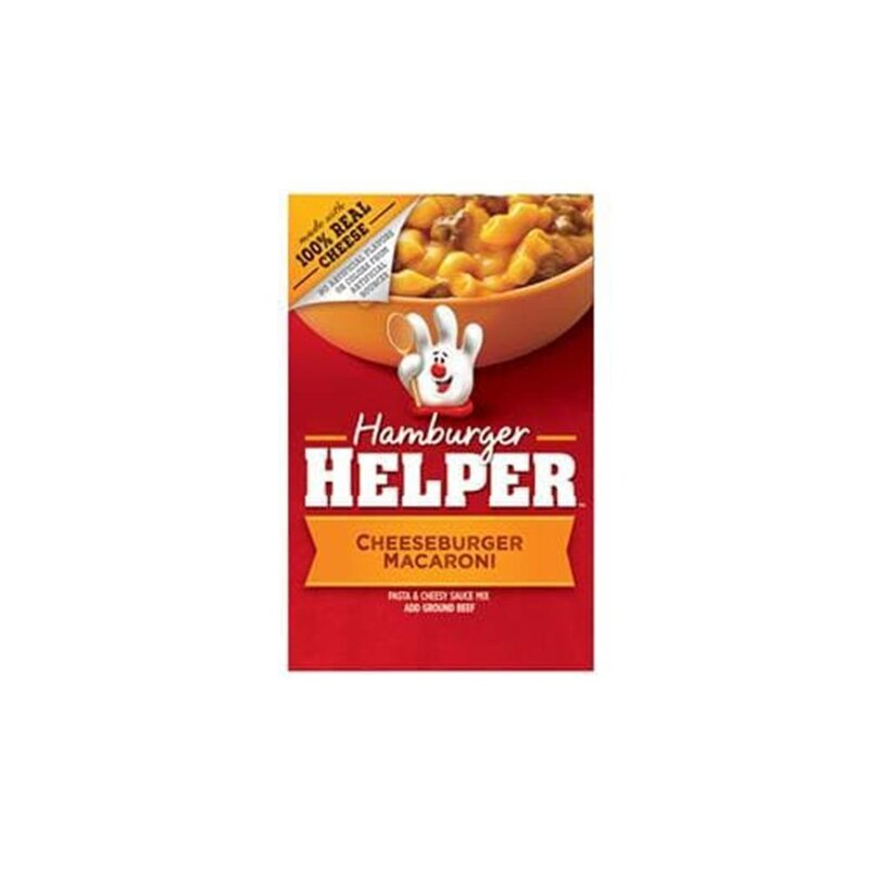 Hamburger Helper - Cheeseburger Macaroni - 1 x 187 g