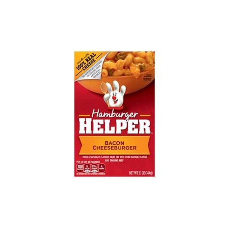 Hamburger Helper - Bacon Cheeseburger - 1 x 144 g
