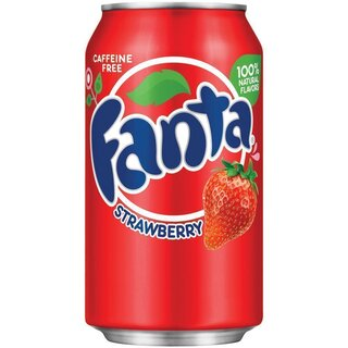 Fanta Strawberry 1 x 355 ml