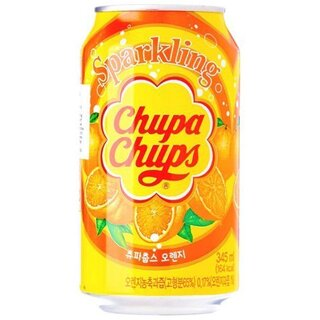Chupa Chups - Sparkling Orange - 1 x 345 ml
