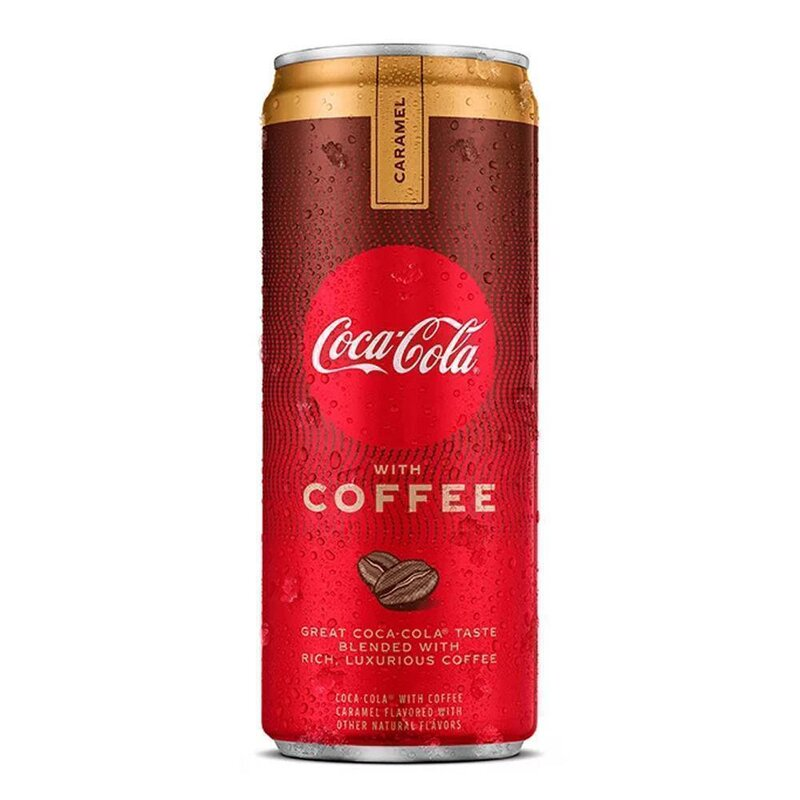 Coca-Cola - plus Coffee - 1 x 330 ml