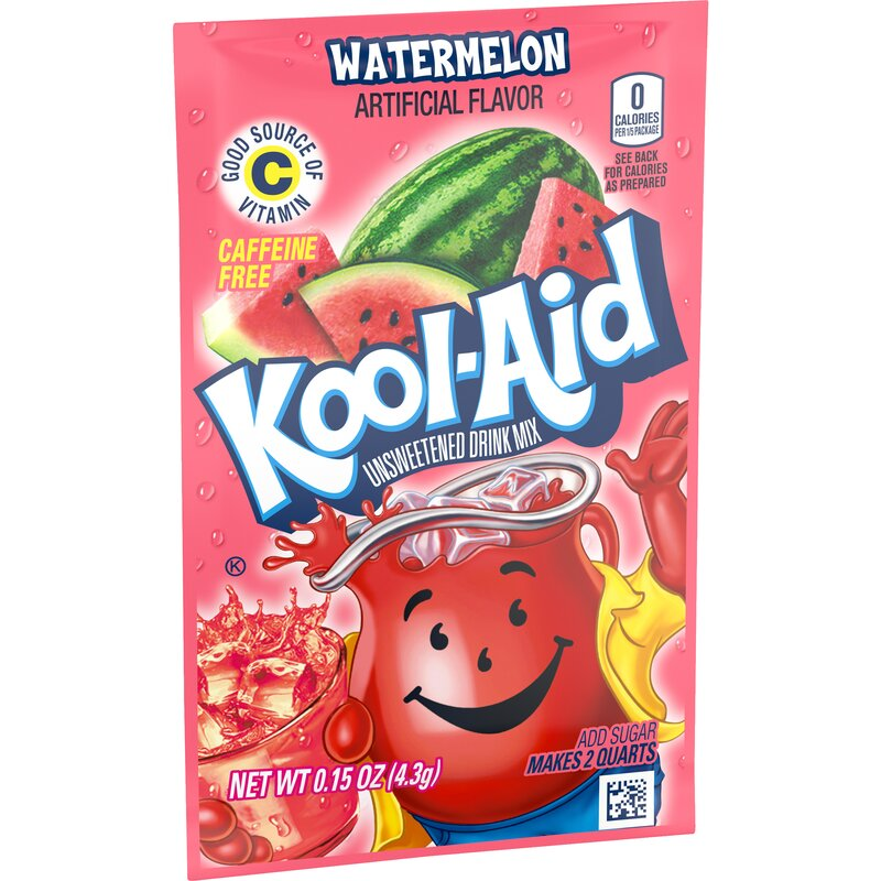 Kool-Aid Drink Mix - Watermelon - 1 x 4,3 g