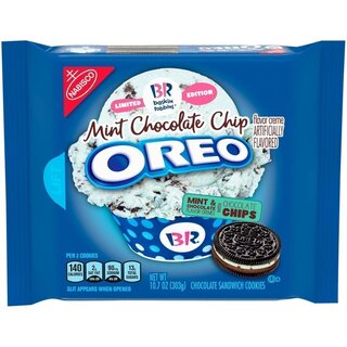 Oreo - Baskin Robbins - Mint Chocolate Chip - limited edition (303g)