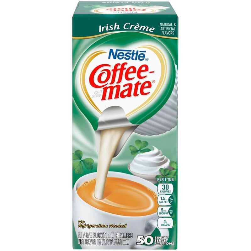 Nestle - Coffee-Mate - Irish Crème - 50 x 11 ml