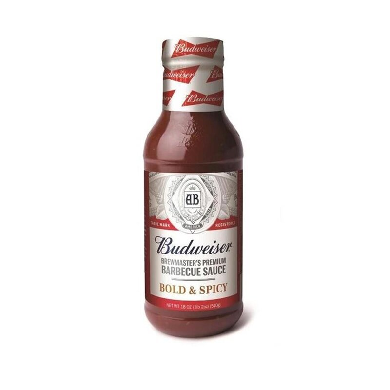 Budweiser - Barbecue Sauce Bold and Spicy - 1 x 510g