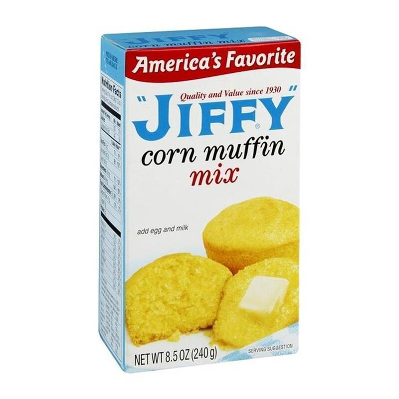 Jiffy - Corn Muffin Mix  - 3 x 240 g