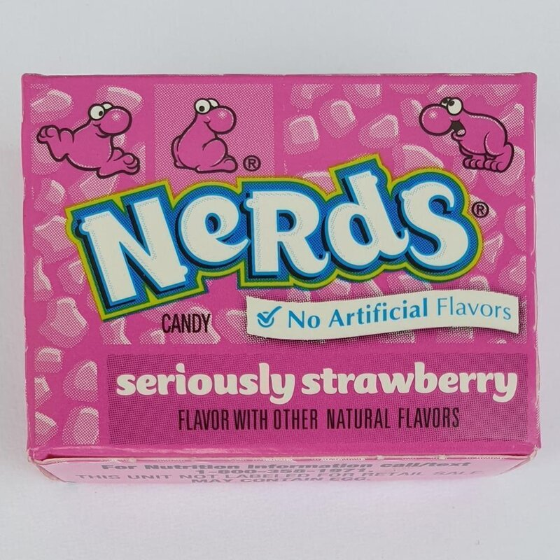 Nerds Strawberry Mini - 3 x 14,5g