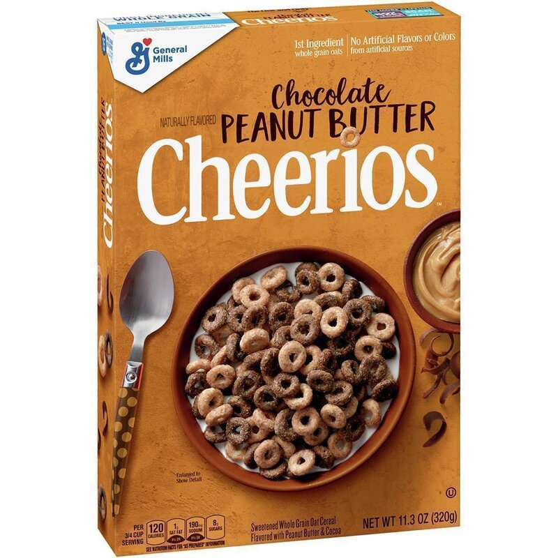 Cheerios - Chocolate Peanut Butter Cerials - 1 x 320g