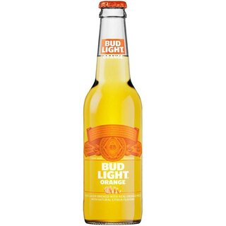Bud Light - Orange - 24  x 330 ml (Glas Flasche)