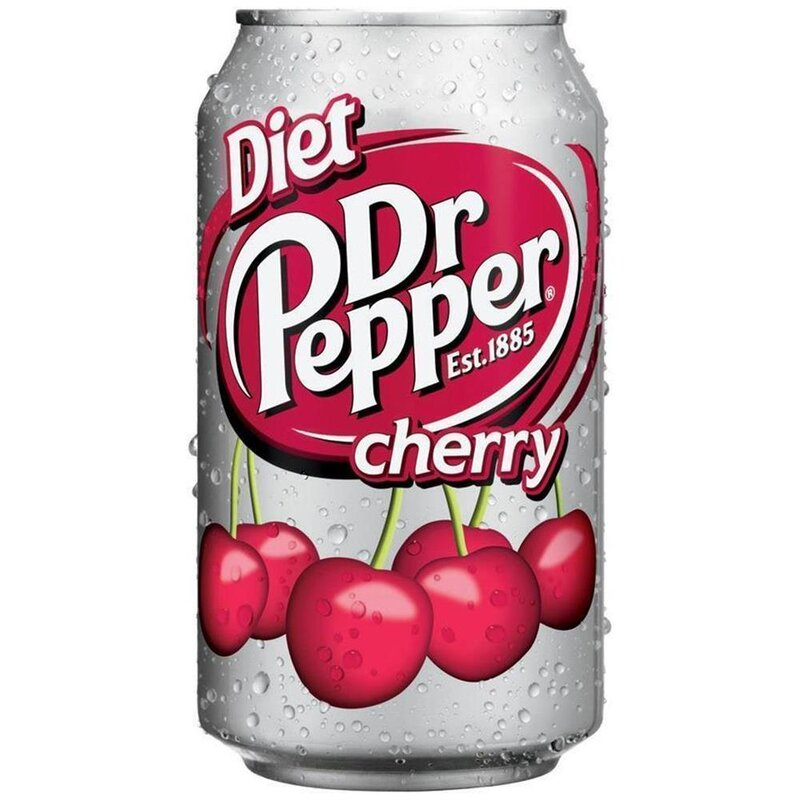 Dr Pepper - Cherry DIET - 355 ml