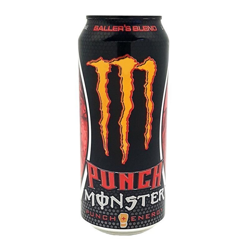 Monster USA - DUB Editon - Ballers Blend - Fruit Punch Energy - 473 ml