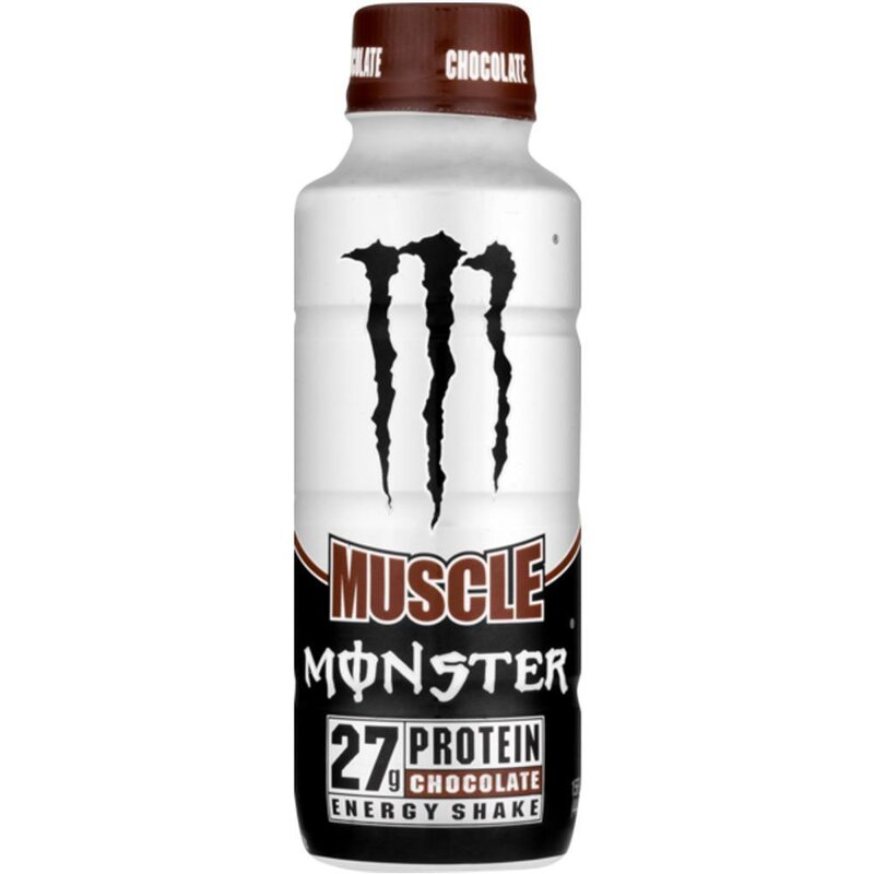 Monster USA - Muscle Energyshake - Chocolate - 444 ml