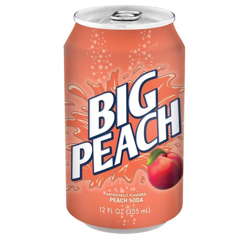Big - Peach Soda - 1 x 355 ml