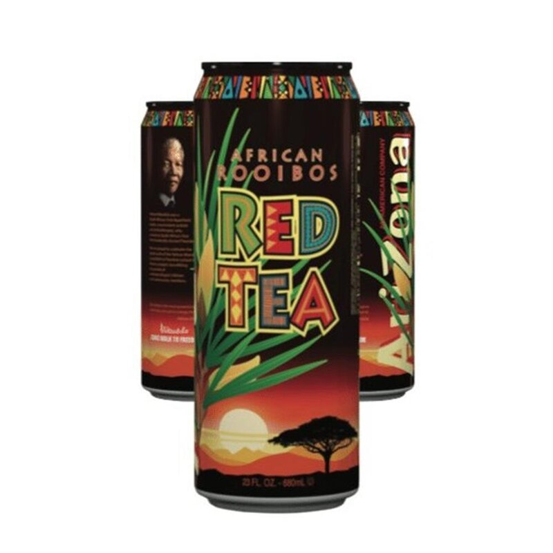 Arizona - Nelson Mandela African Rooibos Red Tea - 695 ml