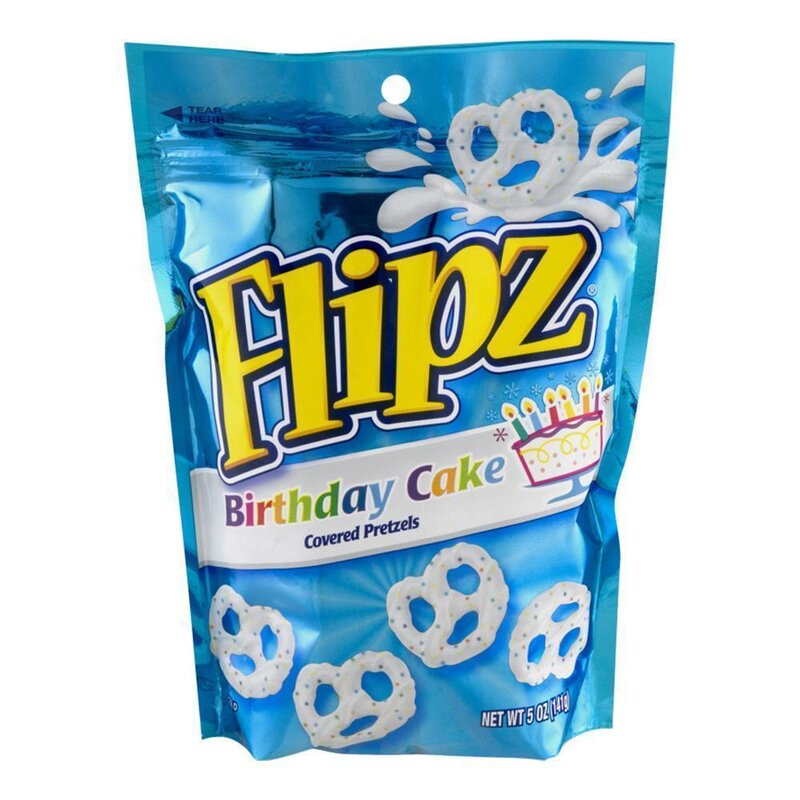 Flipz - Birthday Cake - 141g