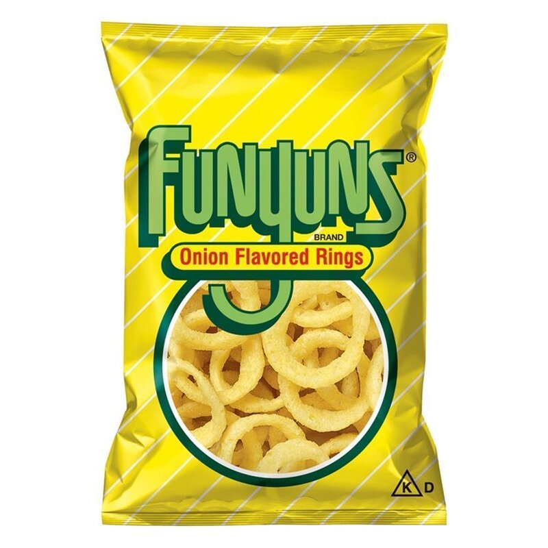 Funyuns Onion Flavored Rings - 163g