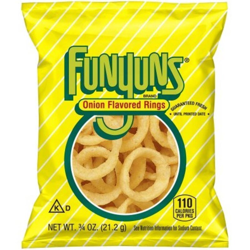 Funyuns Onion Flavored Rings - 1 x 21,2g