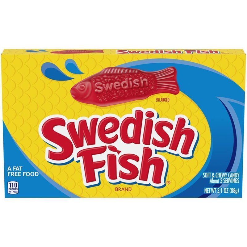 Swedish Fish - Soft & Chewy Candy - 88g