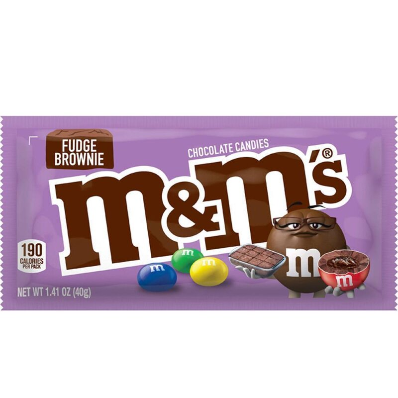 M&Ms - Fudge Brownie - 40g