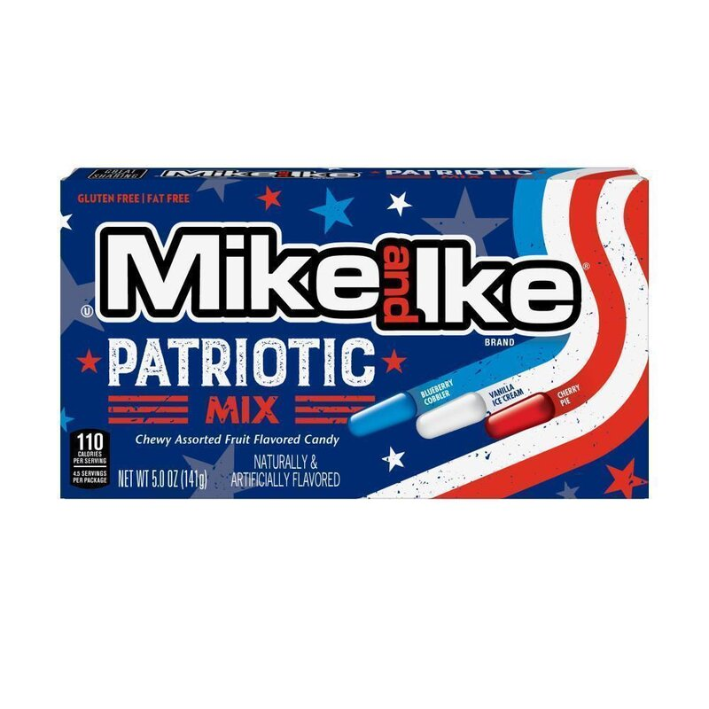 Mike And Ike - Patriotic Mix - 141g